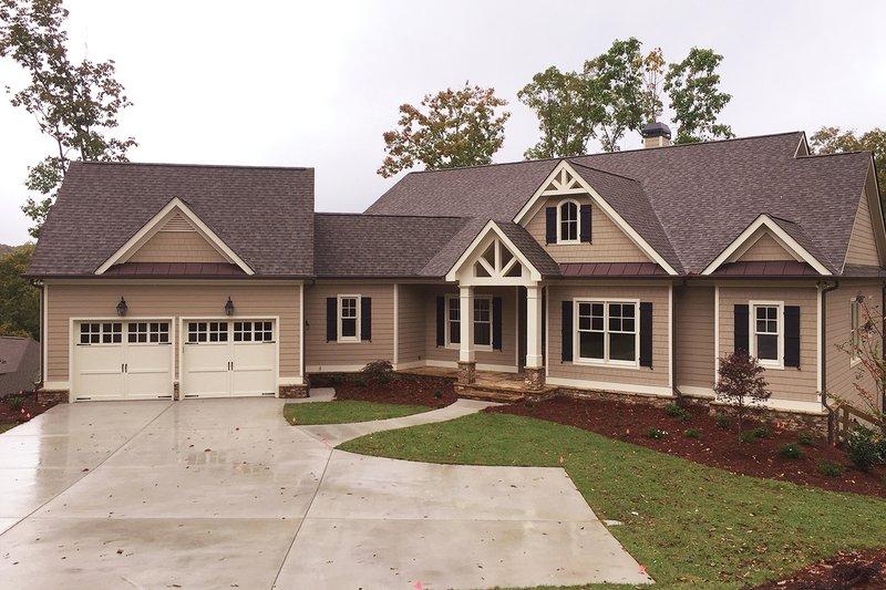 Architectural House Design - Craftsman Exterior - Front Elevation Plan #437-59
