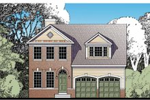 Architectural House Design - Traditional Exterior - Front Elevation Plan #1029-60