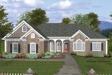 Dream House Plan - Craftsman Exterior - Front Elevation Plan #56-685
