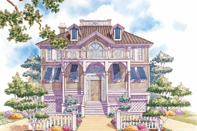 Classical Exterior - Front Elevation Plan #930-76 - Houseplans.com