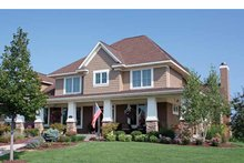 House Plan Design - Country Exterior - Front Elevation Plan #51-1122