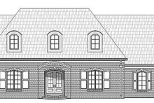 European Exterior - Front Elevation Plan #932-28