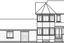 Dream House Plan - Farmhouse Exterior - Rear Elevation Plan #23-830