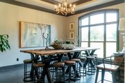 Craftsman Style House Plan - 4 Beds 2.5 Baths 2470 Sq/Ft Plan #17-3391 Interior - Dining Room