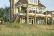 Traditional Style House Plan - 3 Beds 3.5 Baths 3098 Sq/Ft Plan #928-95 Exterior - Rear Elevation