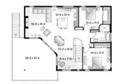 Contemporary Style House Plan - 3 Beds 2 Baths 2729 Sq/Ft Plan #23-2599 Floor Plan - Upper Floor