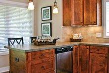 Architectural House Design - Craftsman Interior - Kitchen Plan #928-196
