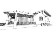 Dream House Plan - Craftsman Exterior - Other Elevation Plan #485-3