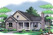 Country Style House Plan - 3 Beds 2 Baths 1838 Sq/Ft Plan #51-350 Exterior - Front Elevation