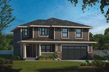 House Plan Design - Craftsman Exterior - Front Elevation Plan #20-2453