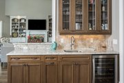 Craftsman Style House Plan - 4 Beds 3 Baths 3335 Sq/Ft Plan #929-920 Interior - Kitchen