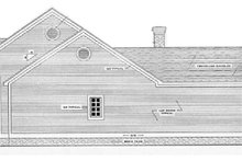 Southern Exterior - Other Elevation Plan #406-285