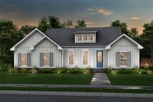 House Plan Design - Farmhouse Exterior - Front Elevation Plan #430-230