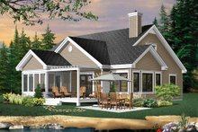 Traditional Exterior - Rear Elevation Plan #23-716
