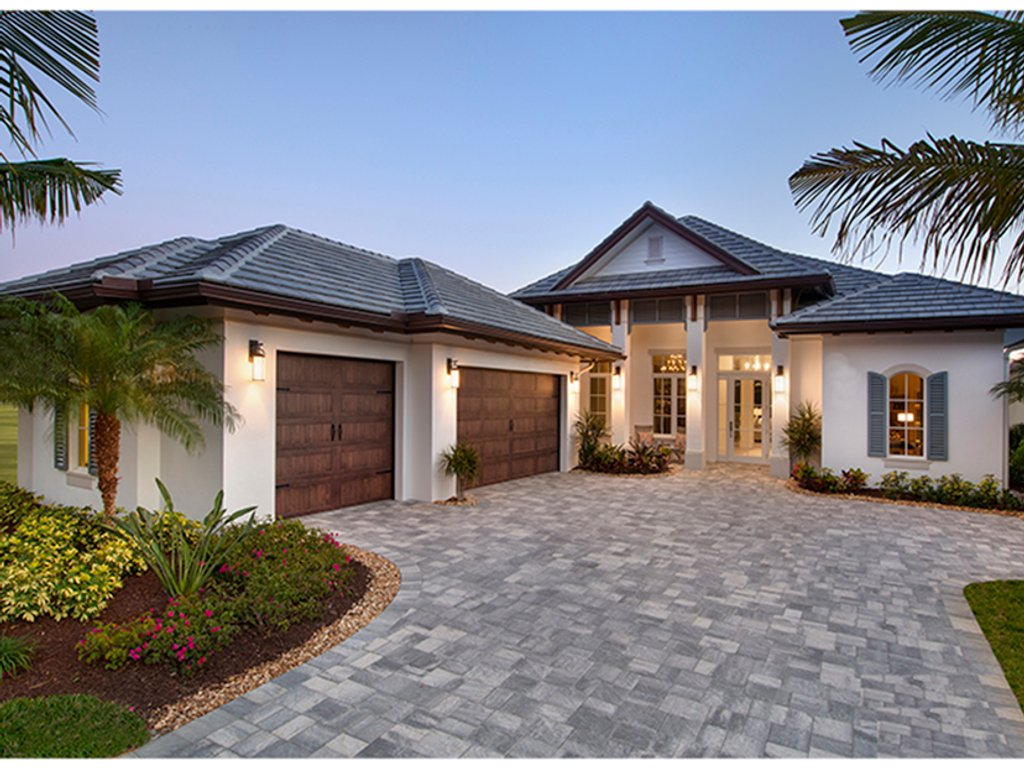 The Sater Design Collection Mediterranean Style House Plan 3 Beds 3 5 Baths 3527 Sq