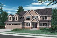 Craftsman Exterior - Front Elevation Plan #48-119