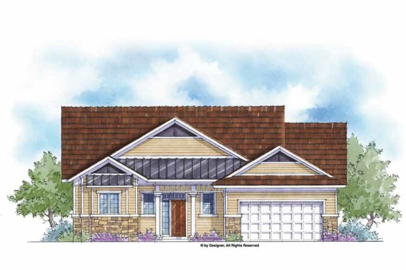 Country Exterior - Front Elevation Plan #938-37 - Houseplans.com