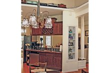 Country Interior - Kitchen Plan #314-278