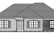 Traditional Style House Plan - 3 Beds 2 Baths 1470 Sq/Ft Plan #63-147 Exterior - Other Elevation