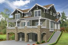 Home Plan - Craftsman Exterior - Front Elevation Plan #132-311