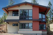 Modern Style House Plan - 3 Beds 2.5 Baths 1977 Sq/Ft Plan #895-18 Exterior - Front Elevation