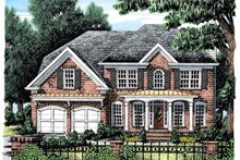 House Plan Design - Colonial Exterior - Front Elevation Plan #927-877
