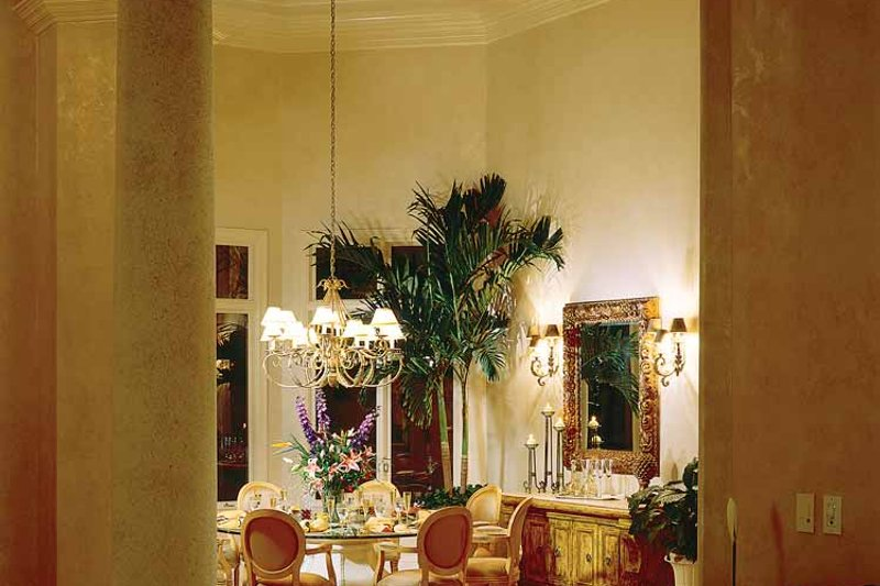 Mediterranean Interior - Dining Room Plan #930-320 - Houseplans.com