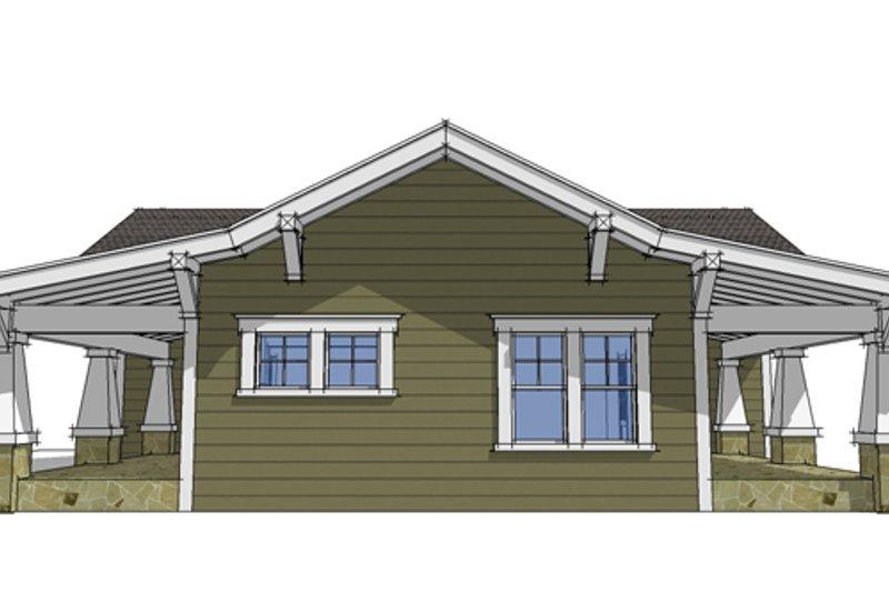 Craftsman Exterior - Other Elevation Plan #64-303 - Houseplans.com