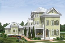 Home Plan - Traditional Exterior - Front Elevation Plan #930-409