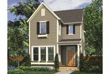Country Exterior - Front Elevation Plan #48-867