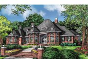 European Style House Plan - 4 Beds 3 Baths 2812 Sq/Ft Plan #929-877 Exterior - Front Elevation
