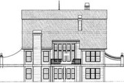 Colonial Style House Plan - 4 Beds 3.5 Baths 2505 Sq/Ft Plan #119-143 Exterior - Rear Elevation