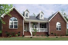 Architectural House Design - Country Exterior - Front Elevation Plan #314-186