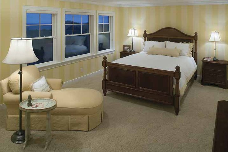 Country Interior - Bedroom Plan #928-98 - Houseplans.com