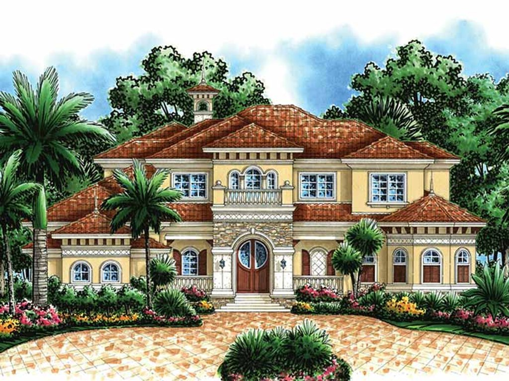 design for a small bedroom mediterranean style house plan 4 beds 5 5 baths 6197 sq 18627