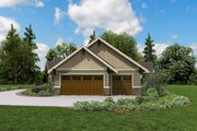 Craftsman Style House Plan - 3 Beds 2.5 Baths 2493 Sq/Ft Plan #48-960 Exterior - Other Elevation