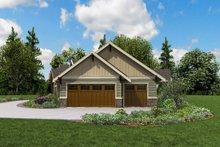 Architectural House Design - Craftsman Exterior - Other Elevation Plan #48-960