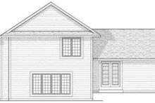 Traditional Exterior - Rear Elevation Plan #70-598
