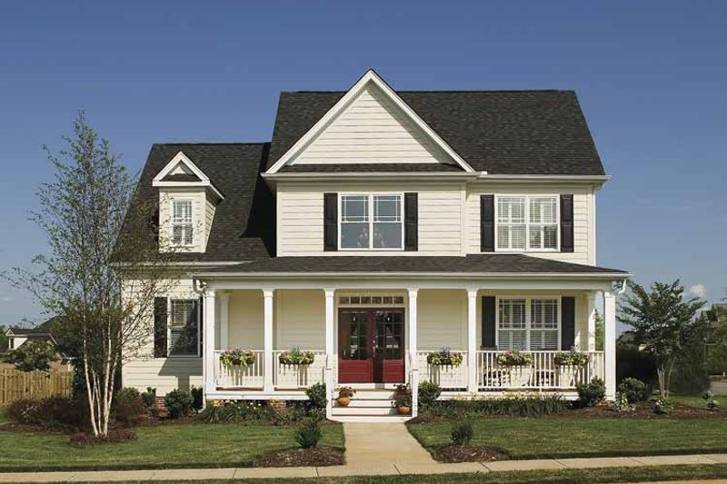 Country Exterior - Front Elevation Plan #929-502 - Houseplans.com