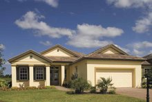 Ranch Exterior - Front Elevation Plan #930-395