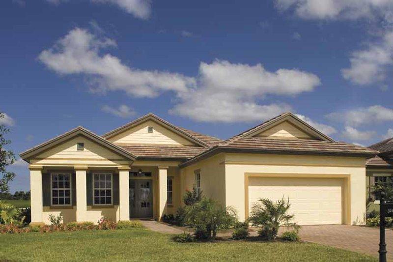House Plan Design - Ranch Exterior - Front Elevation Plan #930-395