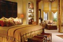 Mediterranean Interior - Master Bedroom Plan #930-97