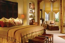 Home Plan - Mediterranean Interior - Master Bedroom Plan #930-97