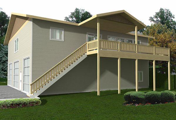 Traditional Floor Plan - Other Floor Plan Plan #117-867