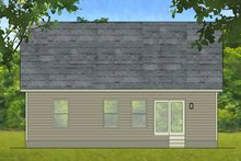 Home Plan - Ranch Exterior - Rear Elevation Plan #1010-199