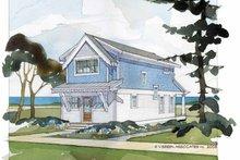 Craftsman Exterior - Rear Elevation Plan #928-174