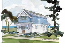Architectural House Design - Craftsman Exterior - Rear Elevation Plan #928-174