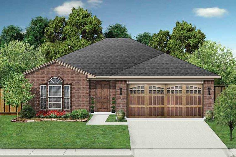 Ranch Exterior - Front Elevation Plan #84-660 - Houseplans.com