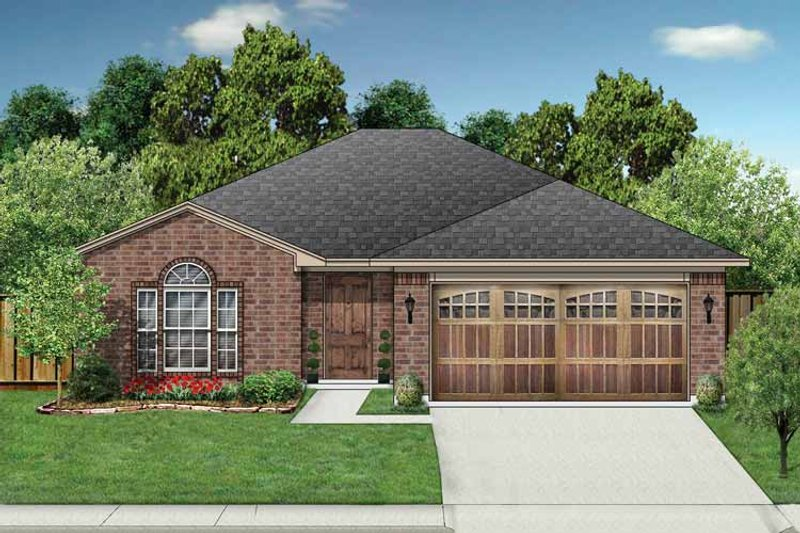 Home Plan - Ranch Exterior - Front Elevation Plan #84-660