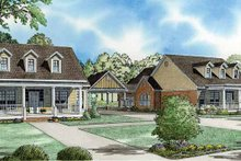 House Design - Country Exterior - Front Elevation Plan #17-2824